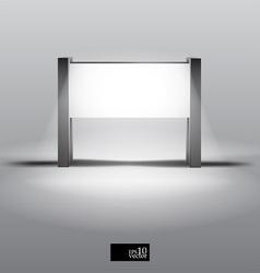 Blank lightbox vector image
