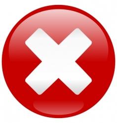 critical error icon vector image