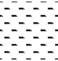 Truck pattern simple style vector image