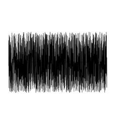 sound wave on white background sound wave sign vector image