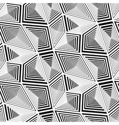Abstract Geometric Triangular Seamless Pattern vector image vector image