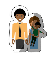 people family together image vector image vector image