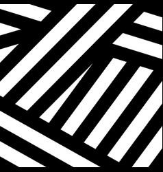Abstract black white modern print vector
