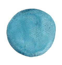 Abstract blue marine brush stroke circle shape vector