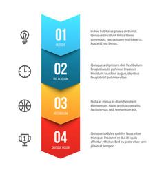 Abstract presentation template vector