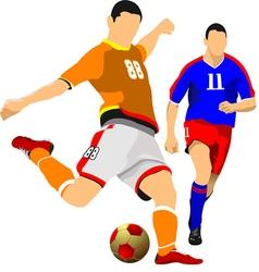 al 0942 soccer 06 vector image vector image