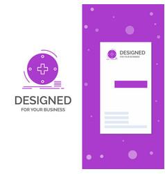 Business logo for clinical digital health vector