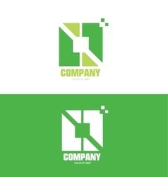 Business square company logo vector