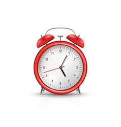 Creative realistic alarm vector