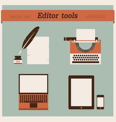 Editor tools vector