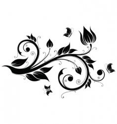 floral design element illustration vector image