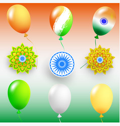 happy independence day india vector image