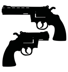 Long and short revolvers vector