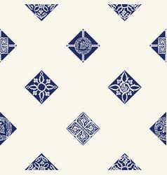 Seamless background with mediterranean pattern vector