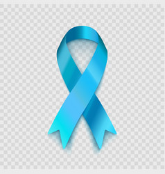 Stock blue ribbon isolated on vector