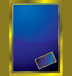 bevel window vector image vector image