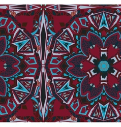Ethnic tribal fashion abstract indian pattern vector image