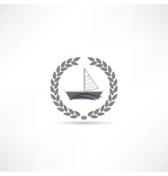 sailfish icon vector image vector image