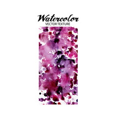 Abstract watercolor texture vector