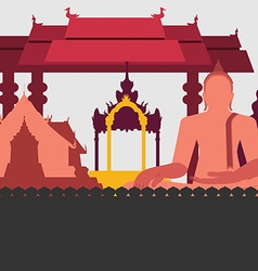 ancientThailand preview vector image