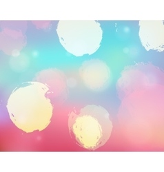 Blurry bokeh background vector
