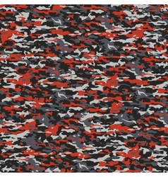 Gray and red camouflage vector image