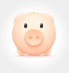 Piggy Money Box Icon vector image
