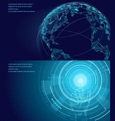 symbols international communication poster vector image