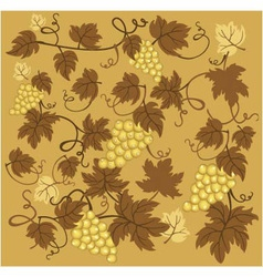 Texture of grapes vector image