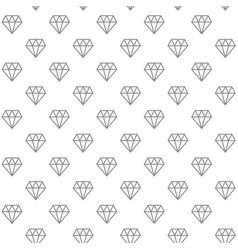 unique digital diamonds seamless pattern vector image
