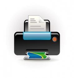 photocopy icon vector image vector image