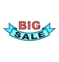 Big sale design icon cartoon style vector image vector image