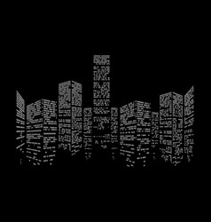 Binary city vector