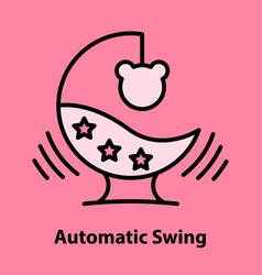 Child gadjet swing vector