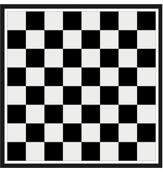 empty chess board vector image