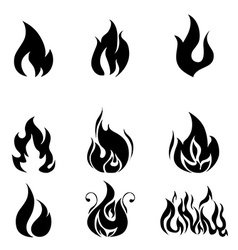 Firefigther design vector image