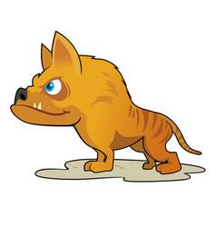 Hyaenodon vector