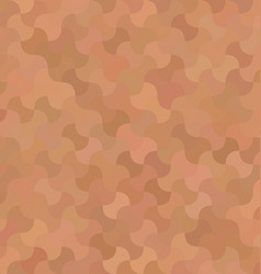 Light brown abstract mosaic pattern background vector