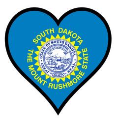 Love south dakota vector