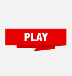 Play vector