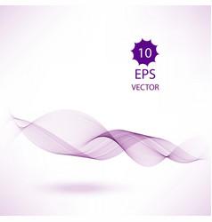 purple color smoke wave transparent wave vector image