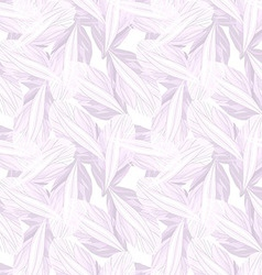 Seamless pattern with Purple flower petal vector