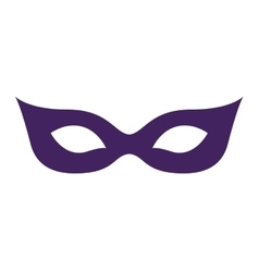 Mask of party and festival concept vector image