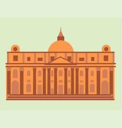 royal palace tourism travel design famous building vector image