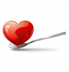 heart for use icon vector image vector image