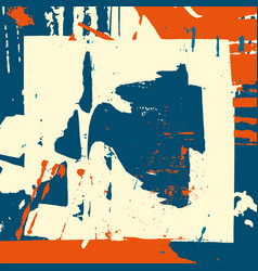 abstract color pattern in graffiti style quality vector image