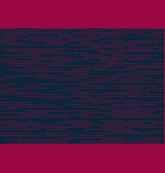 abstract striped speed pink lines horizontal vector image
