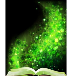 Fairy tales book vector image
