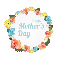happy mothers day banner mothers day greeting vector image