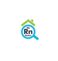 home radon testing first alert kit logo detection vector image